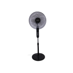 Electronic LED stand fan