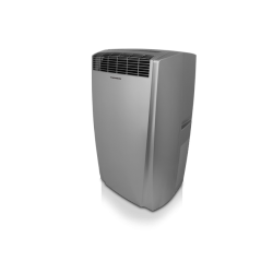 LCD Mobile air conditioner silver